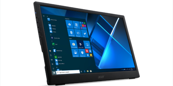 Acer PM161Q portable monitor