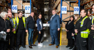Agilitas new international logistics hub