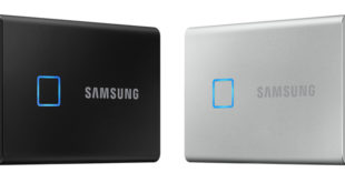 Samsung's T7 Touch solid state drive